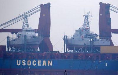 В Одесу привезли 2 військові катери США, про які домовлявся Порошенко