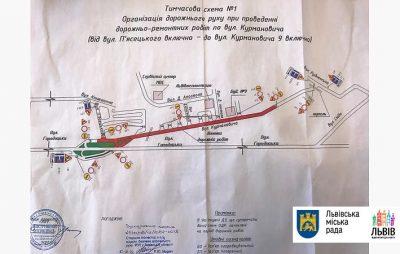 З вівторка, 15 жовтня, розпочинається ремонт вул. Курмановича: дорогу закриють для проїзду