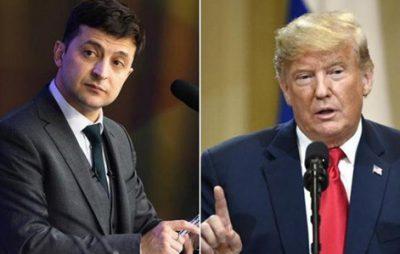 Білий дім опублікував стенограму першої розмови Трампа і Зеленського
