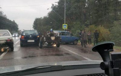 Поблизу Львова через ДТП ускладнився рух автомобілів