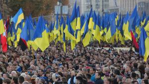 """""""Ні капітуляції"""": по всі Україні люди почали виходити на Майдан"""